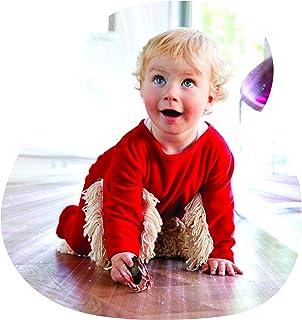Babymop BABYMOP / Wischmop  Strampler = Babymop! Lustiger Strampler, top Geschenk, rot, 80 - für alle Kinder die krabbeln