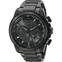 Citizen Men's Eco-Drive Chronograph Stainless Steel Watch with Date (CA4184-81E)