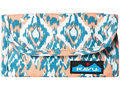KAVU Big Spender (Beach Paint) Wallet Handbags