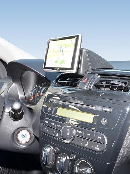 Kuda 6500 Halterung Echtleder Schwarz Für Mitsubishi Elektronik
