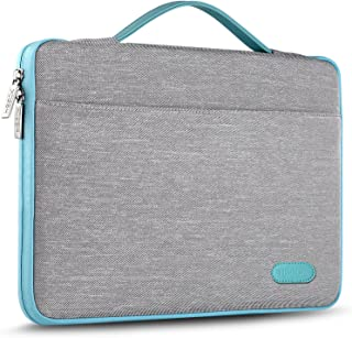 HSEOK 15-15.6 Inch Laptop Case Sleeve, Environmental-Friendly Spill-Resistant Briefcase for 15.4-Inch MacBook Pro 2012 A1286, MacBook Pro Retina 2012-2015 A1398 and Most 15.6-Inch Laptop, Gray