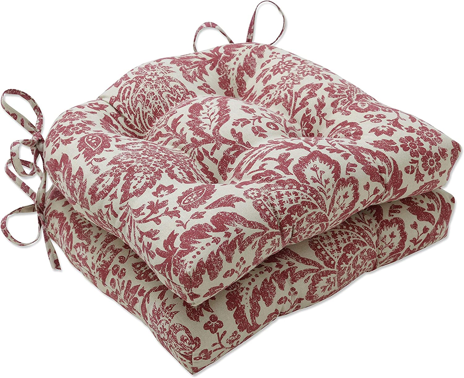 Pillow El Paso Mall Perfect Indoor Fairhaven Red Pad Dealing full price reduction Chair 15.5