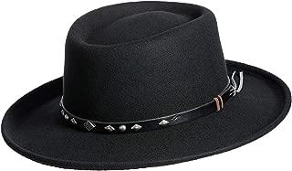 Overland Sheepskin Co Quincy Crushable Wool Waterproof Gambler Hat