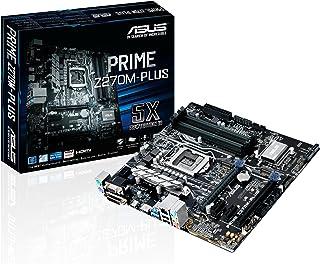 Asus LGA 1151 Prime Z270M-PLUS Intel Z270 M-ATX Motherboard - Black