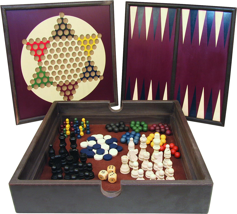 5 in 1 Holz-Game Set - Das Brettspiel
