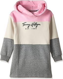 Tommy Hilfiger girls LOGO COLORBLOCK HWK Dress