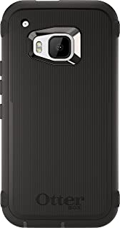 OtterBox Defender Case for HTC One M9 - Retail Packaging - Black (Black/Black)