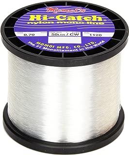 Momoi Hi-Catch 50-Pound 1120-Yard Clear White Line, 1-Pound Mono