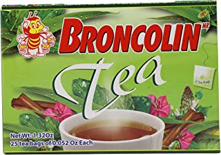 broncolin tea