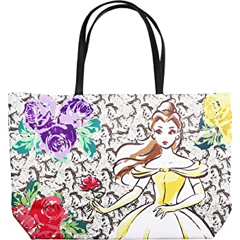 Beauty and the Beast Inspired Cotton Shoulder Tote Bag Ladies Girls Present