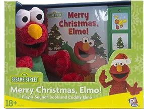 Sesame Street - Merry Christmas, Elmo! – Play-a-Sound Book and Cuddly Elmo