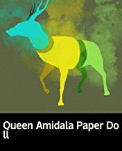 Queen Amidala Paper Doll: Children's books for 1-3 years old