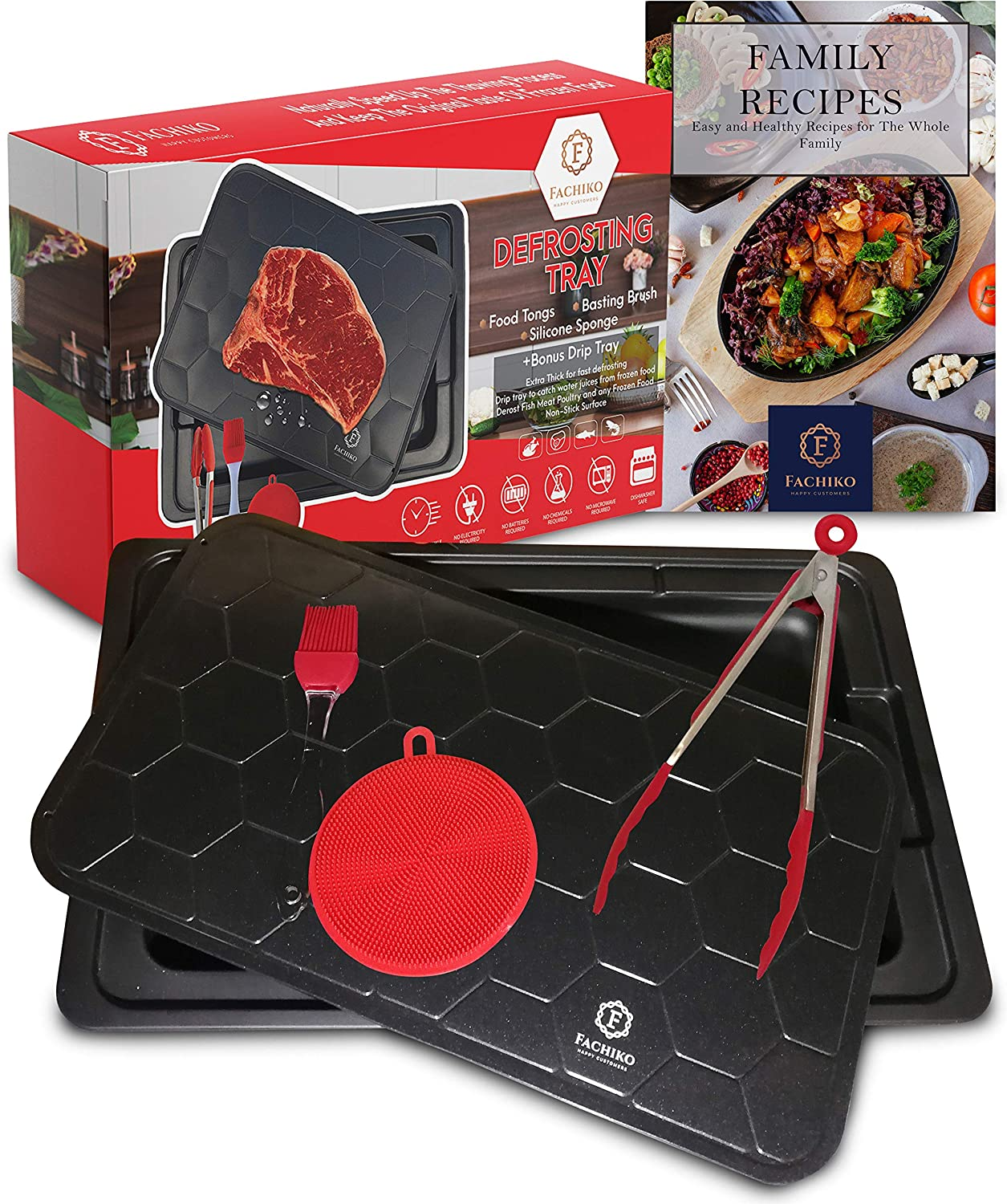 Fast 70% 5% OFF OFF Outlet Defrosting Tray Thawing Size Plate Family S