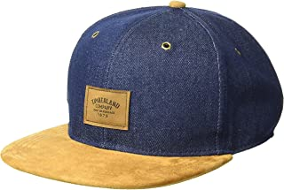 Timberland Men's Cotton Denim Baseball Cap
