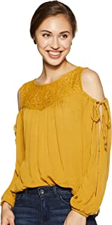 ONLY Women's Plain Loose Fit Top