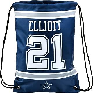 FOCO NFL Dallas Cowboys Unisex Player Drawstring BACKPACKPLAYER Drawstring Backpack, Team Color, OS