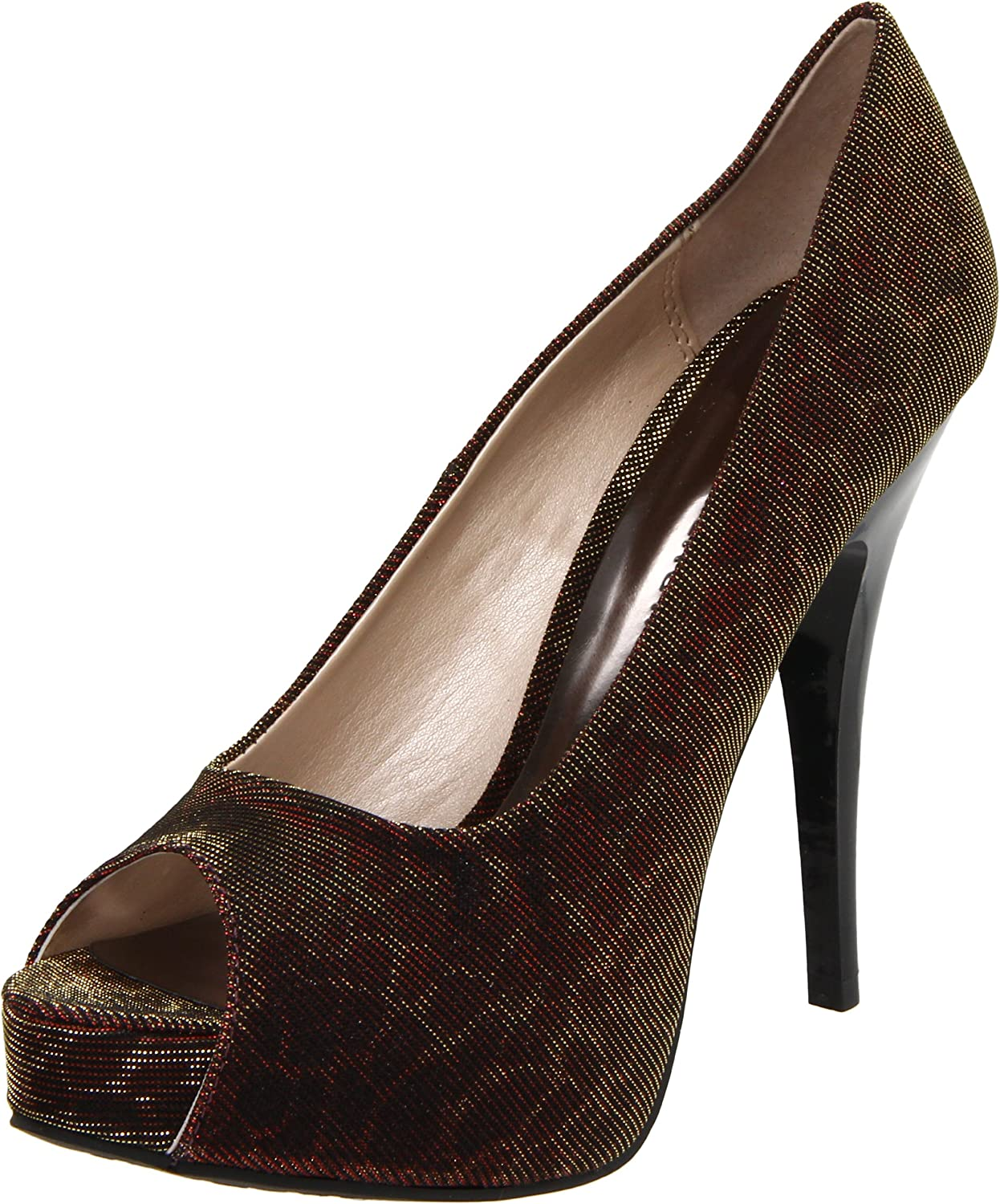 Ranking integrated 1st place Chinese Laundry Jacksonville Mall Women's Hot Pump Spots Peep-Toe