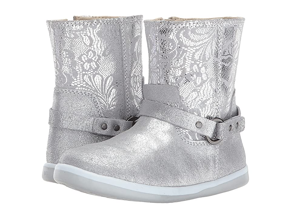 Bobux Kids I-Walk Classic Quest (Toddler) (Silver) Girl