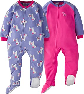 GERBER Girls' 2-Pack Blanket Sleeper