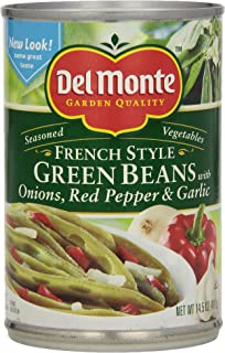 Del Monte Seasoned Green Beans, 14.5 oz