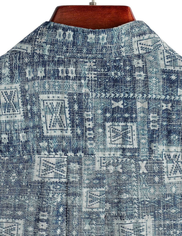 VATPAVE Mens Front Pocket Hawaiian Shirts Casual Short Sleeve Button Down Beach Shirts at  Men's Clothing store