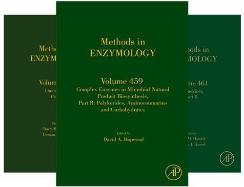 Methods in Enzymology (101-150) (50 Book Series)