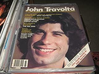 John Travolta Great Entertainers' Magazine (Travolta...Dancer , Actor , Lover , Souvenir Album FUll Color Poster , The bee Gees , Cassidy , Cheryl ladd , Pamela Sue Martin, 1977)