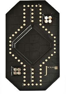 Jackaroo 2 player black leather