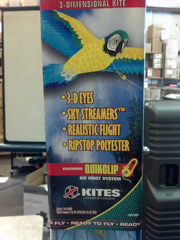Macaw 3-D Kite