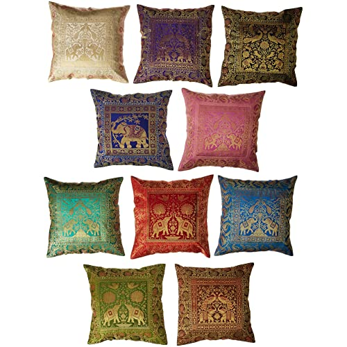 b91c7faab4dd Third Eye Export 10 Pc Lot Square Home Decor Cushion Cover