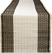 "DII CAMZ11182 Reed Kitchen Table Runner For Dinner Parties, Summer & Outdoor Picnics, 14x72"", Urban Oasis"