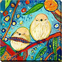 "Picture Perfect International Giclee Stretched Wall Art by Jennifer Lommers Bird IX Artists-Canvas, 18"" x 18"" x 1"""