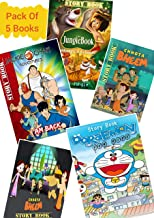 Kids Cartoon Story Book in English With Activity Games ( 5 Books ) | Children English Illustrated tales