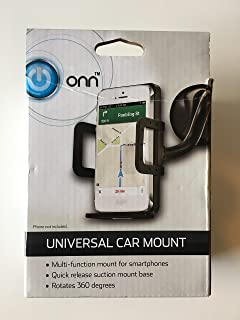 ONN ONA17WI078 Tri-Tip Car Charger 1a Black