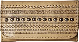 American West - Trading Post Trifold Wallet