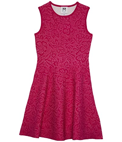 Milly Minis Floral Pointelle Flare Dress (Big Kids) Girl