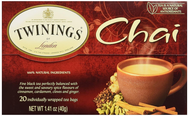 Translated Twinings Tea Chai ct Max 47% OFF 20