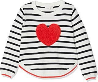 Name It Nkflivia LS Short Knit Felpa Bambina