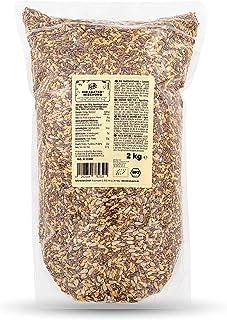 KoRo - Biologische zadenmix 2 kg - Eiwitrijke topping voor salades en soepen - Voor het bakken van brood en crackers - Ook...