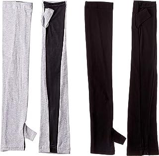 [癒足] (癒足)アームカバー縫製親指付き 2双セット アームカバーシリーズ