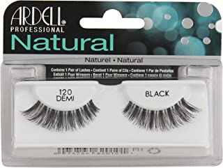 Ardell Fashion Lashes Natural Strip Lash, Black [120] 1 ea ( Pack of 4)