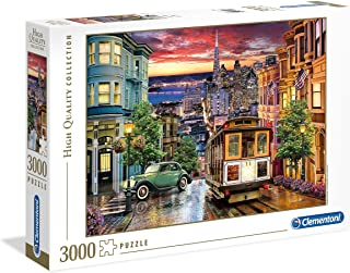 Clementoni Adult The San Francisco 3000-Pieces Puzzle, Multi-Colour