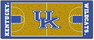 FANMATS NCAA University of Kentucky Wildcats Nylon Face Basketball Court Runner