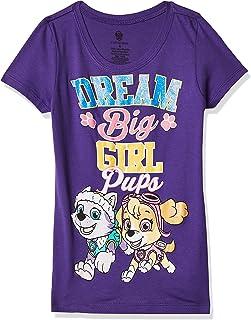 Nickelodeon Little Girls' Paw Patrol Short Sleeve Tee Shirt