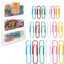 Mr. Pen- Colored Paper Clips, 450 Pack, Paper Clips Assorted Sizes, Paper Clips, Clip, Paperclips, Paper Clip, Paper Clips...