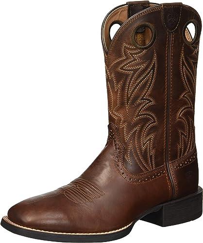 Ariat - - - Chaussures de Sport Western Western Homme Sidebet, 43 W EU, Native Nutmeg 452