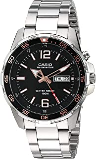 Casio Men's Super Illuminator Quartz Watch with...