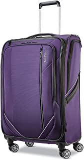 American Tourister Zoom Turbo Softside Expandable Spinner Wheel Luggage