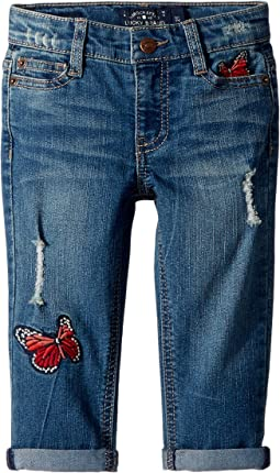 Lucky Brand Kids Demetra Butterfly Jeans in Ada Wash (Toddler)