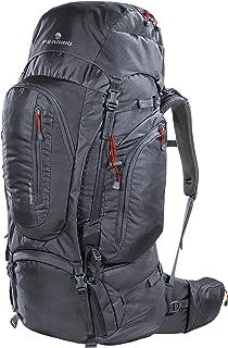 Mochila Trekking Transalp 100 litros Color Gris Oscuro Marca Ferrino – Lomo regulable en altura – Ideal para Trekking o equipaje de viaje Aventura